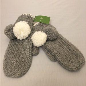 Kate Spade Knit Mittens